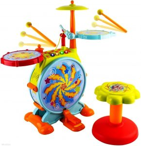 WolVol Toddler Drum Set